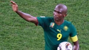 Le Camerounais Samuel Eto'o met un terme à sa carrière internationale (P