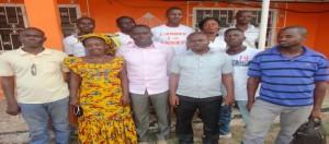 Quelques jeunes d'Agboville.