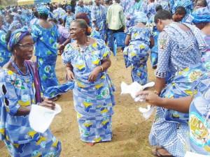 ...les fidèles de l'Eglise protestante méthodiste de Côte d'Ivoire autorisés à célébrer leur centenaire.