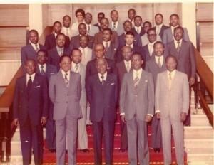Le gouvernement en 1960