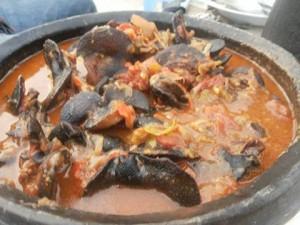 Ici, le Kédjénou d'escargots est l'un des mets de choix des touristes. (Ph: Dr)