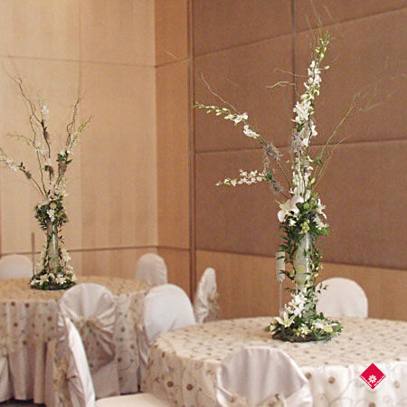 dcor de salle de rception mariage  Montral  Le Pot de Fleurs