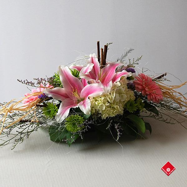 Centre De Table Pour Domicile Montral Le Pot De Fleurs