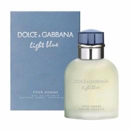 DOLCE & GABBANA LIGHT BLUE POUR HOMME edt 125ml uomo