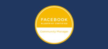facebook blueprint community manager certification