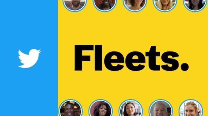 twitter stories fleets