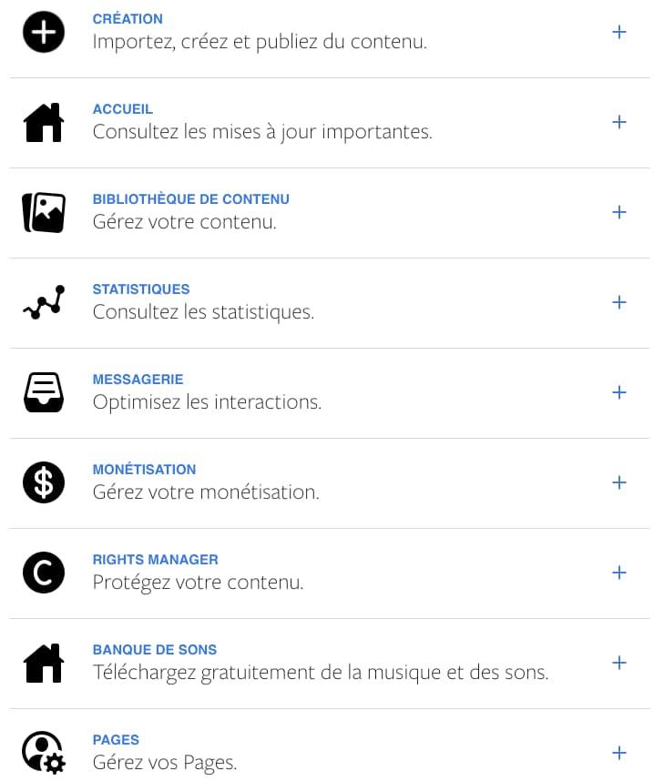 facebook creator studio tool