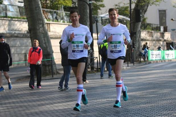 RunMotion au marathon de Paris