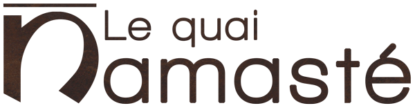 le quai namaste salon de coiffure artisan coiffeur coloration vegetale soins energetiques Maintenance logotype - Attente