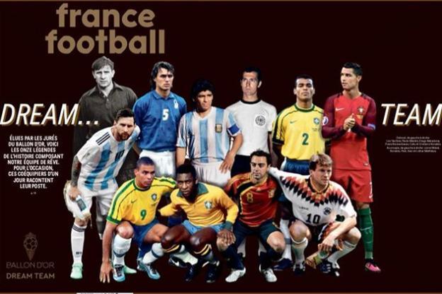 France Football publie un numéro spécial, mardi.
