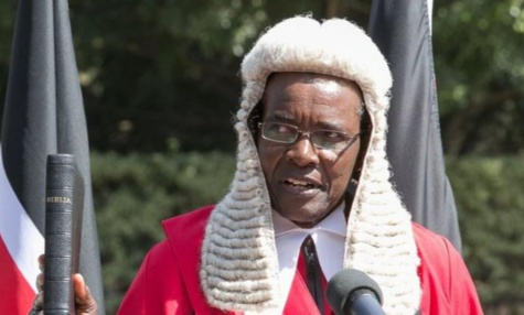 Image result for Chief Justice David Maraga is under siege after the Supreme Court quashed the re-election of President Kenyatta. On Thursday, Nyeri Town MP Ngunjiri Wambugu filed a petition before