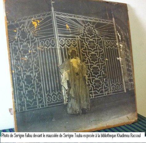 [Photos] Révélations dans l'affaire du miracle : Viviane Ndour a pris la Photo de Serigne Fallou à la Bibliothèque de Touba