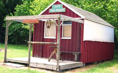 cabane - Ranch de Calamity Jane - Tipis d'hôtes Languidic Morbihan