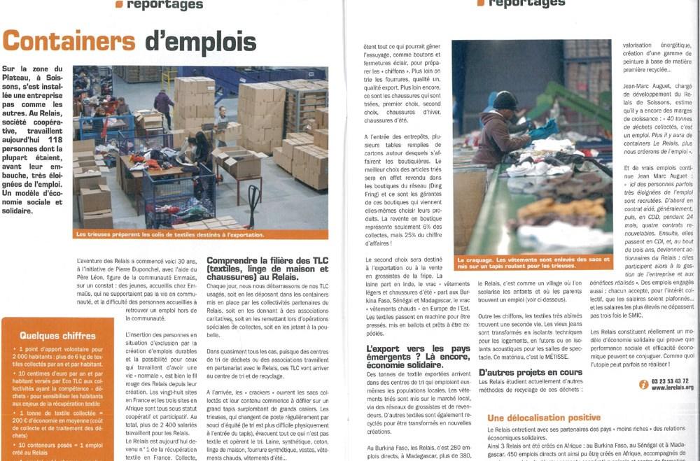 Le Relais Soissons : revue conseil général mars avril 2015