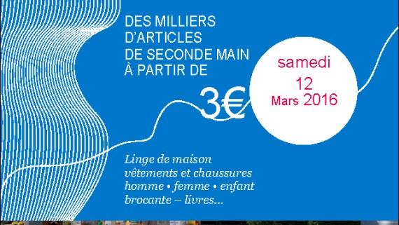 Le Relais Soissons : Braderie mars 2016