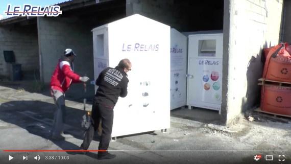 Le Relais Soissons : pose conteneurs Villeneuve Saint Georges