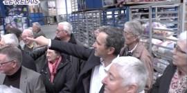 Le Relais Soissons : Visite organisée pour les médaillés de Soissons