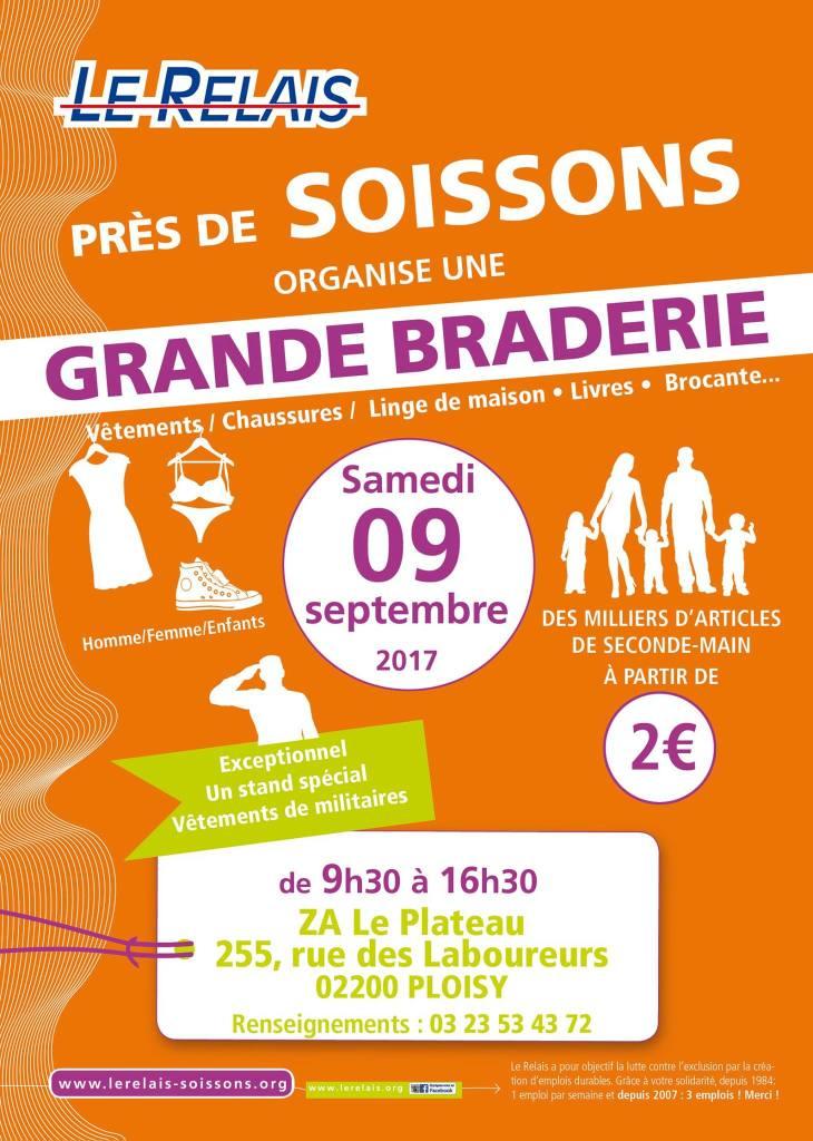 Braderie Brocante 9 septembre 2017