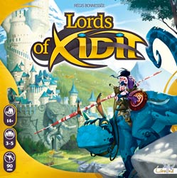 La boite de Lords of Xidit