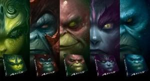 Les cinq boites d'Abyss