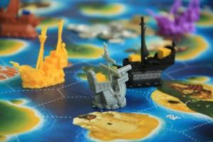 Les bateaux de Black Fleet