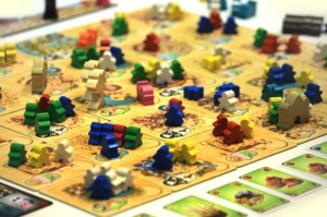 Une partie de Five Tribes