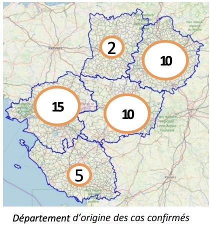 Coronavirus Maine-et-Loire Pays de la Loire - ARS: point de la ...