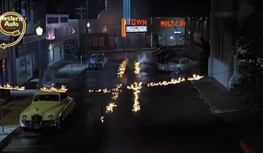 Symbole 911 film Retour vers le futur