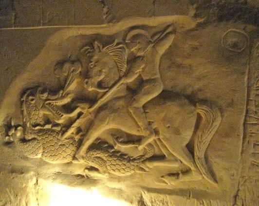 Combat entre Saint-George et le Dragon à Maastricht