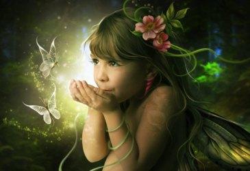 Femme fée ou le retour du féminin sacrée