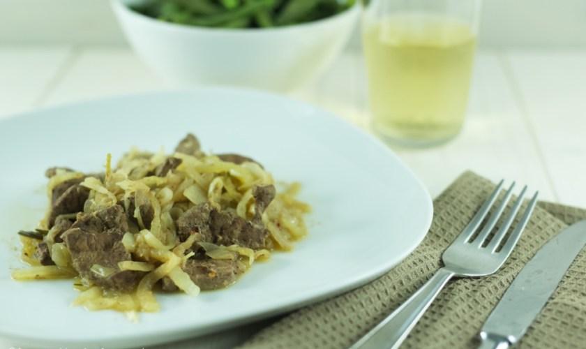 Fegato alla veneziana, ricetta secondo di carne