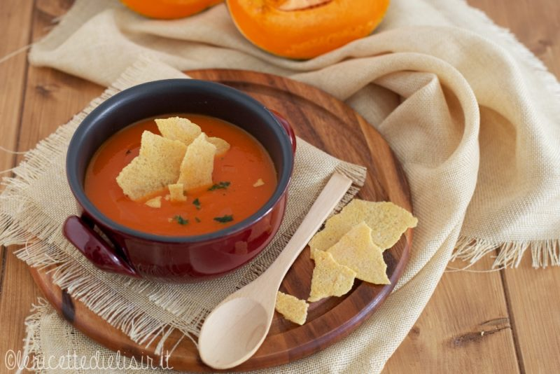 Zuppa di zucca le ricette di elisir