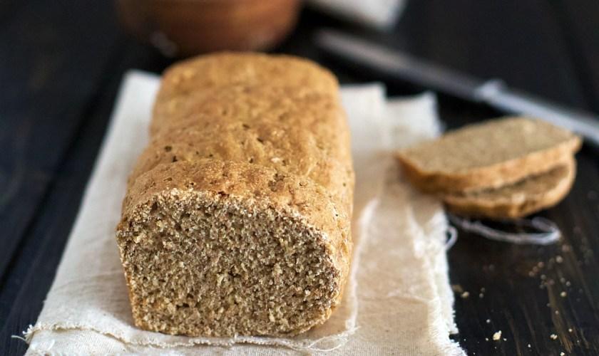 Pane di segale integrale e orzo