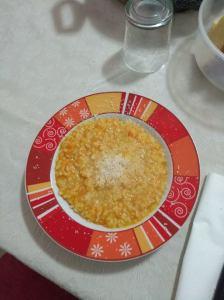 risotto con le verdure del brodo