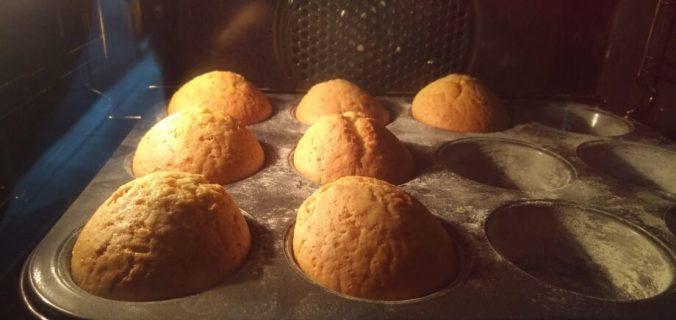 muffin pompelmo e frutto della passione
