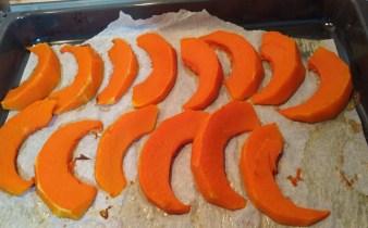 zucca al forno Vegan senza nichel e glutine
