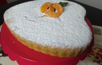 torta all'acqua di san valentino