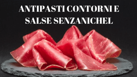 ANTIPASTI CONTORNI E SALSE SENZA NICHEL