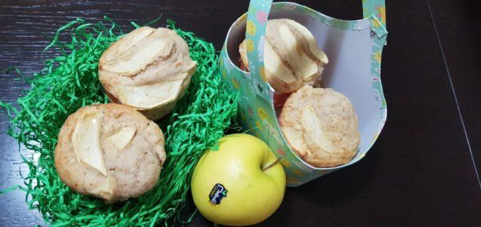 muffin alla mela senza burro e uova
