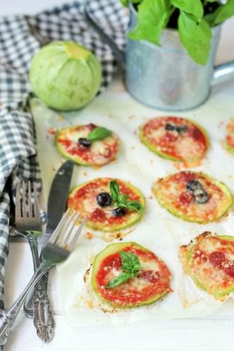 pizzette di zucchini