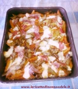 penne-con-carciofi-e-prosciutto-266x300 Pasta al forno con carciofi e prosciutto