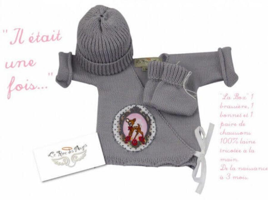 Brassière en laine bébé