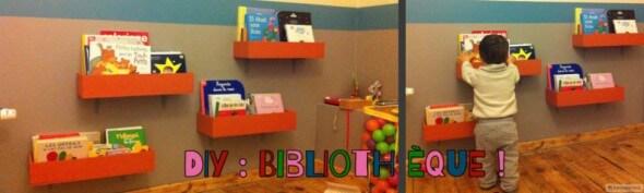 Bibliothèque DIY