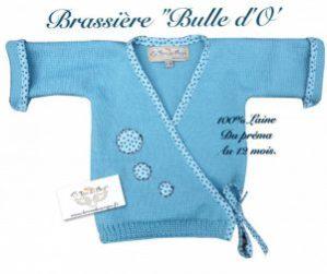brassiere laine boy