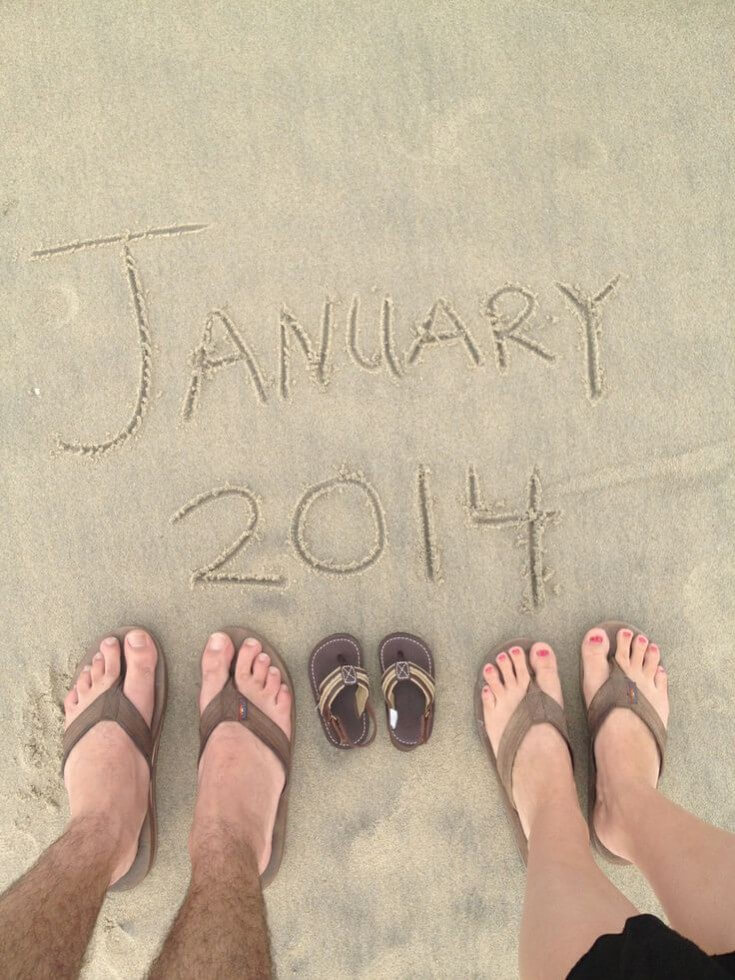 DPA ecrite dans le sable