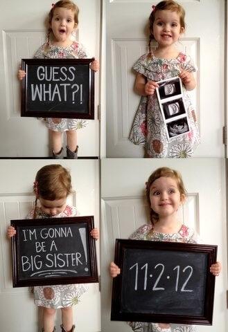 future grande soeur annonce un bébé