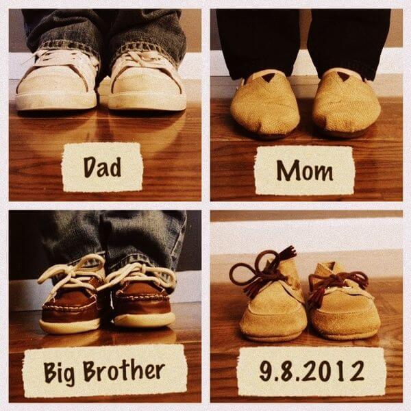 chaussures bébé à venir