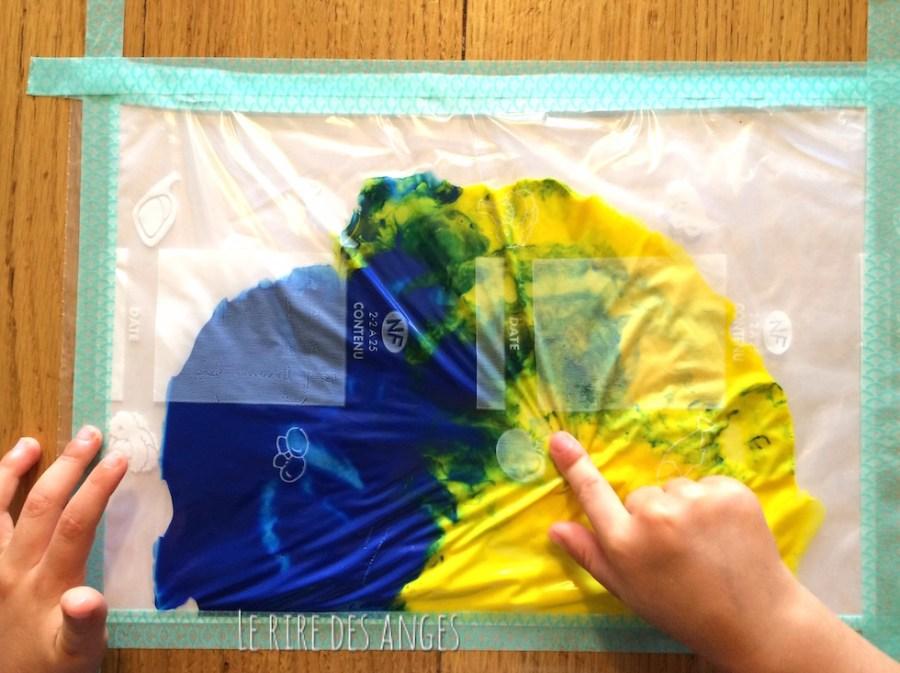 Peinture aux doigts propres