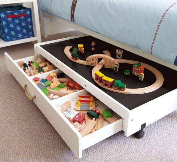 10 astuces de rangements de jouets