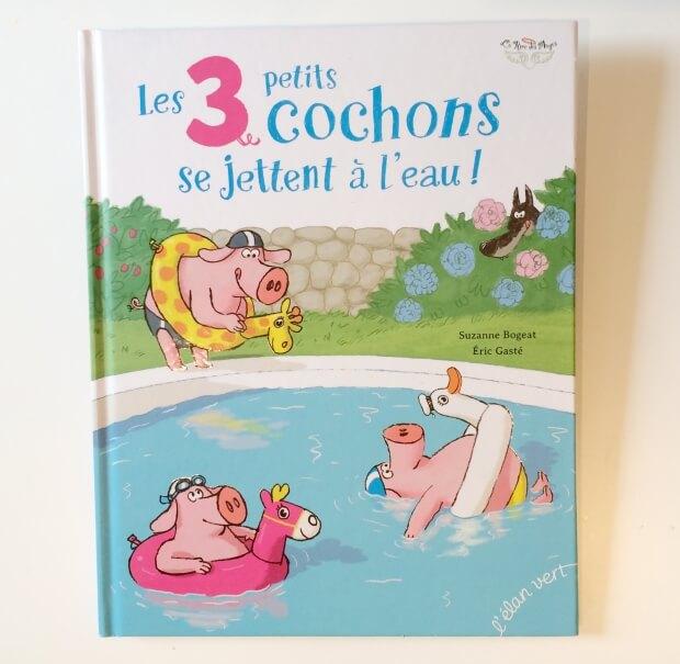 les 3 petits cochons se jettent a l eau